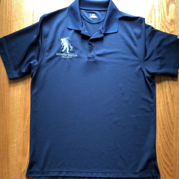 84e1831b Under Armour Shirts | Heat Gear Wounded Warrior Golf Shirt | Poshmark